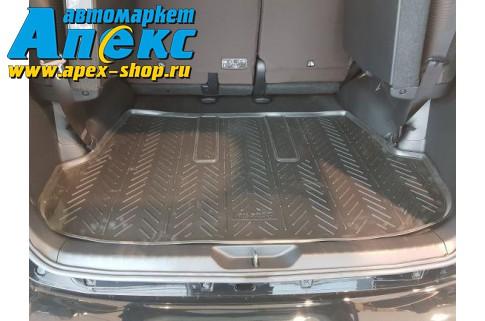 Коврик полиуретановый для Toyota Fortuner (2015-) багажник (7 мест)